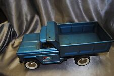 Vintage 1960's STRUCTO HYDRAULIC DUMP TRUCK with BOX