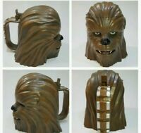 Disney Parks Disneyland 2015 Star Wars Force Awakens CHEWBACCA Stein Mug Cup NWT