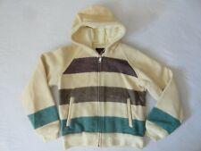 Vintage Eddie Bauer Wool Blanket Style Hooded Jacket