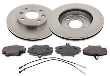 For Renault 11 21 B/C37 German Quality Pair Of Front Brake Discs Pads Set 238mm