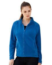 Polyester Zip Neck Fleece Tops Hoodies & Sweats for Women