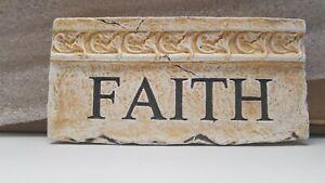 Faith Wall Plaque
