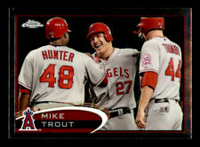 2012 Topps Chrome #144 Mike Trout Angels NM-MT (ref 95989)