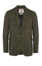 MENS HARRIS TWEED PRIMARK REGULAR FIT CHECK BLAZER JACKET BRITISH VINT BNWT M
