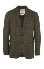 Para Hombre Harris Tweed Primark Slim Fit Chaqueta Blazer cheque británico Vintage BNWT L