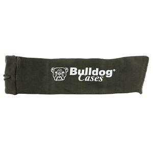 """Bulldog, Gun Pistol Sock, 14""""x4"""" Black"""