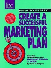 How to Really Create a Successful Marketing Plan by David E. Gumpert 1997, Pape
