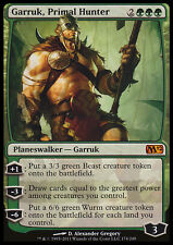 GARRUK PRIMAL HUNTER NM mtg M12 Green - Planeswalker Mythic