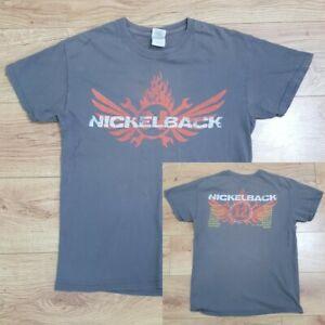 Nickelback Vintage 2012 Here and Now European Tour T-Shirt - Size Medium