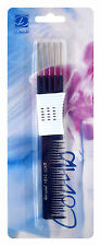 Dimples Metal Teasing Hair Styling Hairdressing Comb H646