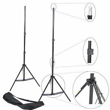 Kit 2x Trépied pour Studio DynaSun W803 220cm Support de Fond Pied Photo Video