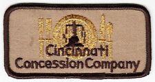 CINCINNATI CONCESSION COMPANY - Vintage BUSINESS PATCH