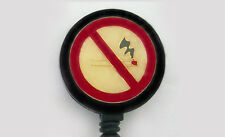 NO SMOKING Retractable ID Badge Reel/Card Holder/Key chain ring/Security