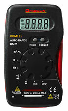 Dawson DDM181 Pocket AC/DC Resistance/Capacitance AutoRanging Digital Multimeter