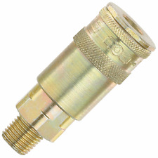 """PCL AC91CM 1/4"""" Male PCL Vertex Couplings NEW Garage Air Tool Hose Fittings"""