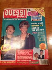 Vintage Celebrity Magazine Summer 1993 Guess Who! Issue Number 1