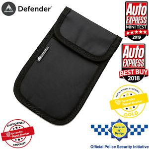 Car Key Signal Blocker Case Faraday Cage Pouch Keyless RFID Blocking Bag Black