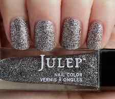 NEW! Julep nail polish TISH Vernis ~ Silver bell full-coverage microglitter