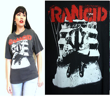 RANCID AVENUES and ALLEYWAYS Vintage T Shirt bt13 Punk Rock Thread Bare Worn M