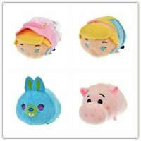 Toy Story 4 Bo Peep 2 HAMM BUNNY Tsum Tsum Plush Doll mini S Disney Japan 4pcs
