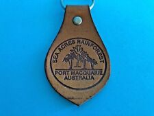 Sea Acres Rainforest Port Macquarie NSW Leather Keyring