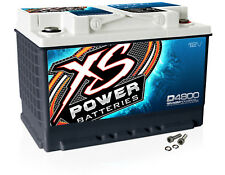 XS Power D4800 12 Volt AGM 3000 Amp Sealed Car Audio Battery/Power Cell+Terminal