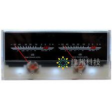 Amplificateur de puissance vu meter db level header indicateur pic tableau de la base de données avec rétroéclairage