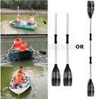 1 Pair Aluminum Alloy Detachable Afloat Kayak Oars Paddles Boat Rafting Canoe