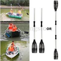 1 Pair Aluminum Alloy Detachable Afloat Kayak Oars Paddles Boat Rafting  UK