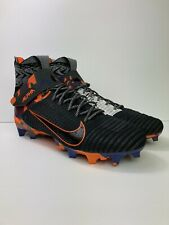 Nike Alpha Menace Elite 2 Black Grey Orange Crimson Av5357-002 Men's Size 15