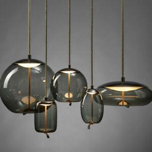 Nordic Restaurant Bar Glass Pendant Light Chandelier Ceiling Lamp Fixtures