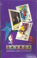 1991-92 91-92 SKYBOX SERIES 1 NBA SEALED BOX: MICHAEL JORDAN/LARRY BIRD/MAGIC