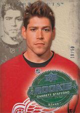 08-09 Artifacts BLUE xx/50 Made! Garrett STAFFORD #260 - Red Wings Rookie