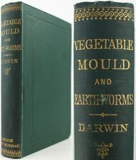CHARLES DARWIN*1883*FORMATION OF VEGETABLE MOULD & EARTHWORMS:SOIL/HUMUS/GEOLOGY