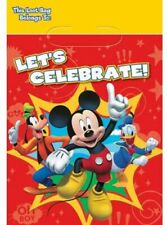 American Greetings Mickey Mouse Clubhouse Treat Loot Bags, Pack of 8,