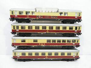 Märklin H0 TEE - Personenwagen Set der DB 4-teilig