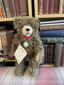 Hermann Teddy - 1999 Annual Bear -Limited Edition - Label - Mohair - Vintage