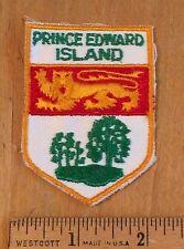 Prince Edward Island PEI Canada CA Lion Crest Souvenir Sew-on Patch