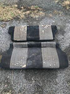 FORD FIESTA  MK1 REAR SEATS PAIR