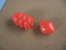 2010 Hasbro Bookshelf Edition Cootie Game Parts Cottie Body & Head Orange