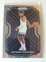 2020-21 Panini Prizm Rookie Anthony Edwards RC Timberwolves Mint Rookie Card