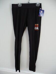 New Under Armour Virginia Cavaliers women's medium yoga pants UVA leggings black
