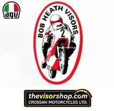 Bob Heath Motorcycle Helmet Visor BHV524  - AGV Stinger/Seco/Skeema/Freeway DARK
