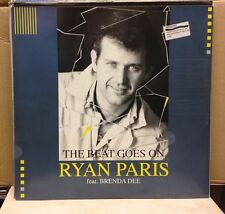 RYAN PARIS The Beat Goes On - 1992 German 12'' Single EXCELLENT CONDITION
