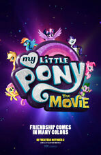 MY LITTLE PONY THE MOVIE POSTER 1 Sided ORIGINAL Advance VF 27x40 EMILY BLUNT