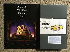 TAXI, Audio Visual Press Kit- Fox, 2004 ,RARE with BETACAM Jimmy Fallon