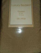 *New* Luxury Gold Bed Skirt