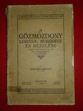 HUNGARIY RAILROAD TRAIN BOOK VERY RARE 1912 - FULL FOTOS
