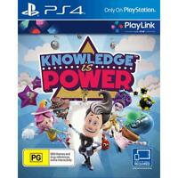 Knowledge Is Power - Sony PlayStation 4 PS4 [Region Free Brain Smart Games] NEW
