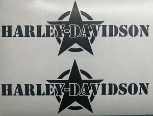 Harley Davidson Army Tank Aufkleber in Div.Farben 20 ×7,6 cm.Top Neu 2 Stück